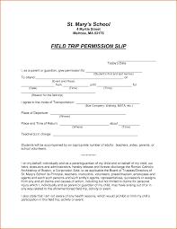 Sample Permission Slips For Field Trips Sample Permission Slips For Students Magdalene Project Org