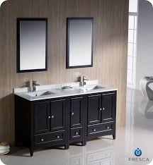 60 Fresca Oxford FVN20 241224ES Traditional Double Sink Bathroom