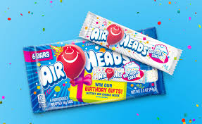 Airheads Candy Adds New Birthday Cake Flavor Because You Guessed It