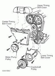 1998 ford contour timing belt