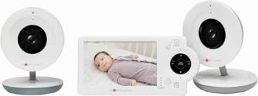 Project Nursery Video Baby Monitor with (2) Cameras and 4.3