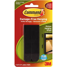 3m velcro strips.  Velcro Command Large Black Picture Hanging Strips And 3m Velcro
