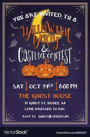 Design Party Invitations Halloween Party Invitation Design
