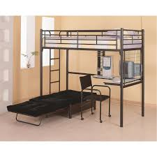Coaster Furniture 2209 Twin Loft Bunk Bed with Chair and Desk
