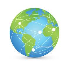 Design Free Logo: Globe Network Logo Templates