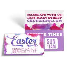 Easter Folded Invite Cards