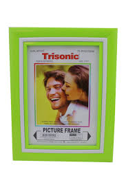 5x7 picture frame lime green
