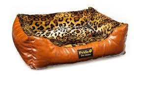 Мягкий лежак <b>PRIDE лежак прямоугольный Кения</b> 70 х 60 х 23 см ...