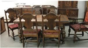 Impressive Decoration Antique Dining Room Furniture 1920 Marvelous