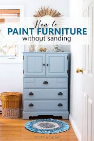 paint furniture without sandingHow to Paint a Dresser Without Sanding Coastal Cottage Painted