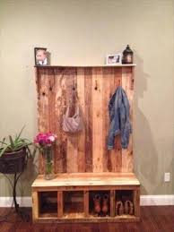 Wooden Coat Rack With Storage Hall Tree Coat Rack Storage Bench Foter 33