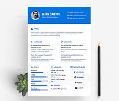 Freebie : Creative Web Developer Resume / Cv Template Design | Design