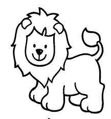 We need to color it according to its requirement. Simple Easy Animal Coloring Pages For Kids Kcsuttons