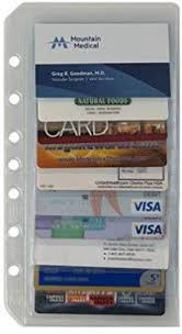 Amazoncom Classic Businesscredit Card Holder Two Pack Franklin
