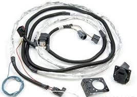 trailer tow wire harness kit for jeep wrangler mopar 82210214ab Trailer Hitch Wiring Kit jk wrangler trailer tow wire harness kit