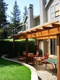 small backyard patio backyard covered