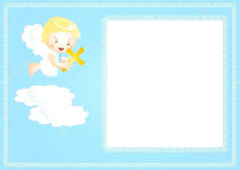 frame baby frame with small angel vector by borders and frames free frame frame child