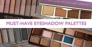 must have eyeshadow palettes padour