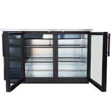 Glass Refrigerator True Tbb 2g Ld 59 Glass Door Back Bar Refrigerator With Led Lighting