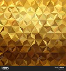 Gold Pattern Cool Gold Pattern Low Poly Vector Photo Free Trial Bigstock