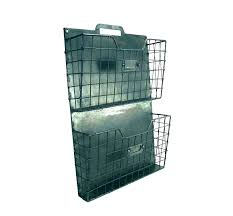 mesh wall pocket organizer file organizers metal tiered holder fits letter sizes wire decorative