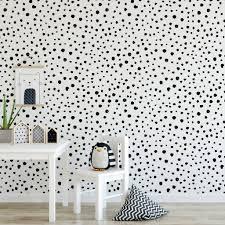 Black Or Grey Dalmatian Dots Self ...
