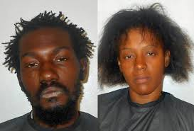 P-Section Confrontation: She Drives Her Car Into Him. He Shoots the Car.  Both Arrested.