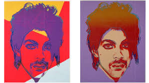 andy warhol style of painting andy warhol estate sues over image of prince hollywood reporter