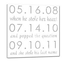 147 best wedding reception signs images on pinterest wedding Wedding Date On Canvas 147 best wedding reception signs images on pinterest wedding anniversary gifts, canvas word art and cotton anniversary gifts wedding date canvas