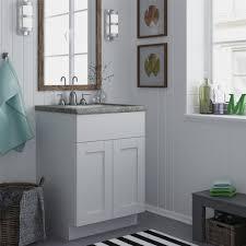20 Vanity Cabinet Altra White 24 Inch Shaker Style Bath Vanity Cabinet Ebay 15 Inch
