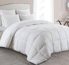 basic beyond all season goose down comforter king warm down duvet insert