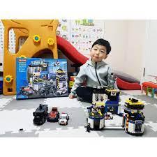 Đồ chơi lắp ráp ️️🏅CHÍNH HÃNG️🏅 Bộ lego xếp hỉnh Tổng Cục Cảnh Sát Oxford  ST33336 gồm 1004 mảnh nâng cao trí tuệ