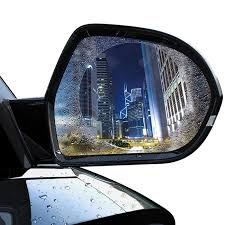 <b>Baseus 0.15mm Car</b> Rearview Mirror Clear Film Anti-fog Window ...