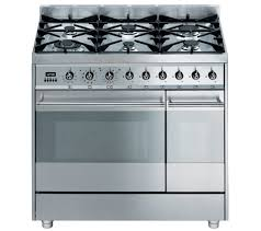 Why Dual Fuel Range Buy Smeg Symphony 90 Dual Fuel Range Cooker Stainless Steel