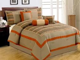 orange and brown bedding. Exellent Brown Brilliant Orange And Grey Bedding Sets Sweetest Slumber In  Comforter With Brown N