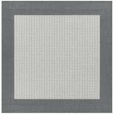 square indoor outdoor rug checd field grey white 9 ft x 9 ft square indoor 7 square indoor outdoor rug