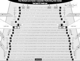 Carpenter Performing Arts Center Seating Chart Theatre In La