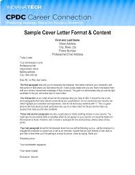 Cover Letter Email Letter Idea 2018