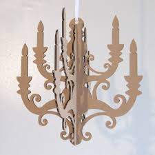 modern cardboard candelabra centerpiece party decoration paper paper chandelier party decorations