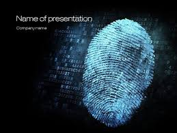 Fingerprint Powerpoint Templates And Backgrounds For Your