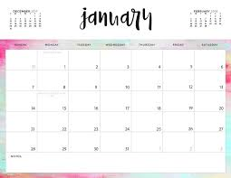 Printable Calendar Pdf Unique Download Your FREE 48 Printable Calendars Today There Are 48