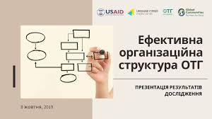 Usaid Org Chart Presentation Of Model Organizational Chart For Amalgamated Territorial Communities Ucmc 08 10 2019