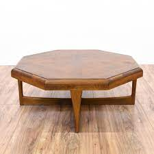 She recently created this amazing mid century side table and these mid century planters which were the inspiration behind my little table. Lane Mid Century Modern Octagon Coffee Table Loveseat Online Auctions San Diego