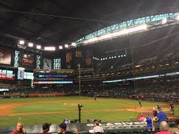 Chase Field Seating Chart Infield Reserve Breakdown Of The Chase Field Seating Chart Arizona