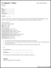 Salary Letters From Employer Salary Increment Letter Format Letters Font In Inside Review