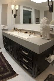 sinks undermount trough sink 36 inch master bathroom with statue beautiful light lamp double faucet