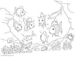 Ocean Fish Coloring Page Ocean Life Coloring Pages For Adults Sea