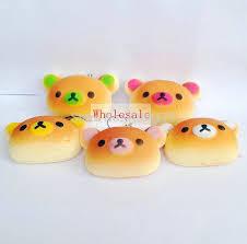 Group Of Clay Rilakkuma Bakery Buns