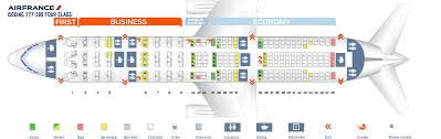 Seat Map Boeing 777 200 Air France Best Seats In Plane