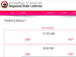 Nagaland Lottery Result 2018 11 55 Pm Result Here 8 Pm Yet